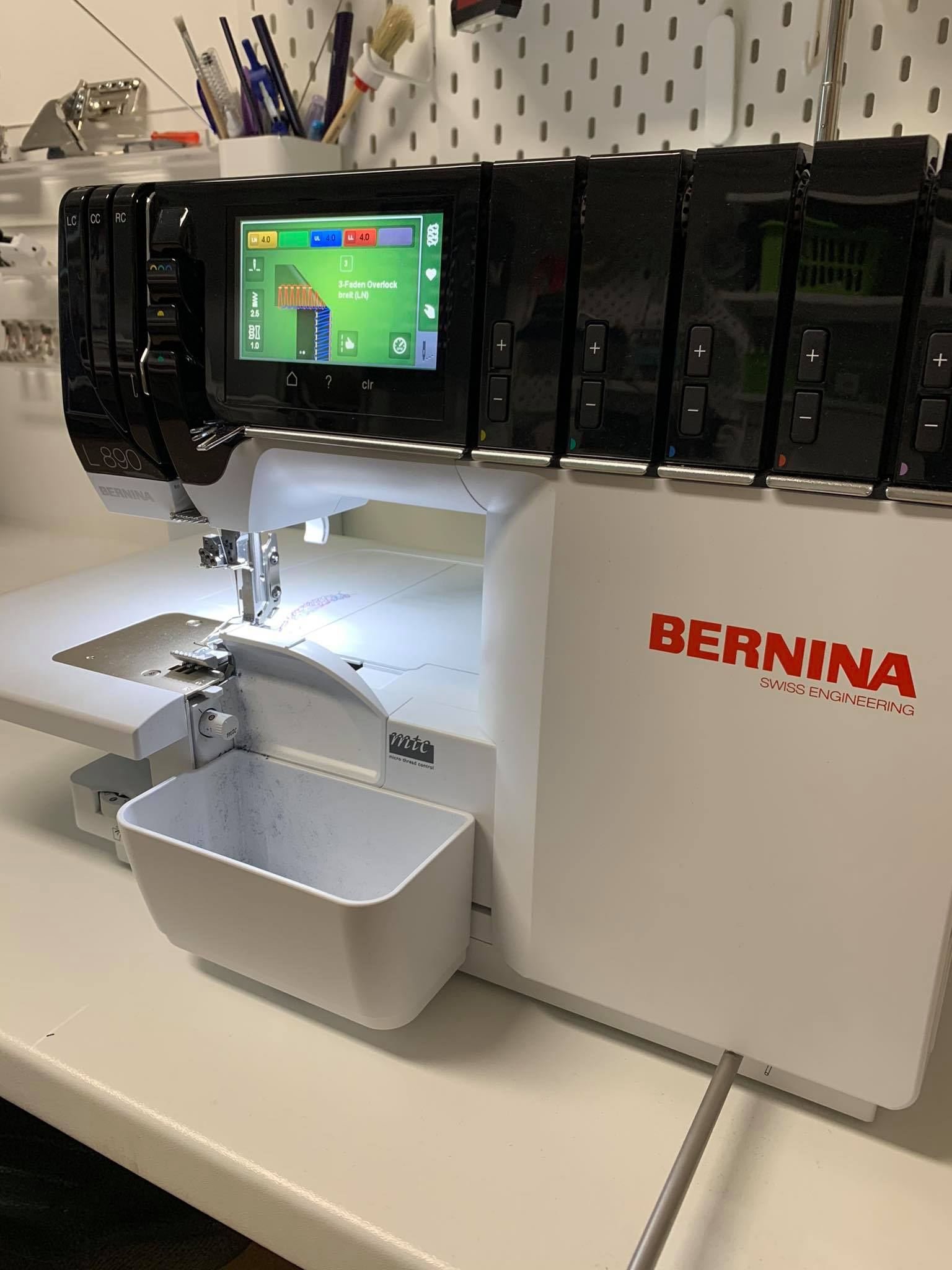 Die BERNINA L890 Coverlock im Test bei der Redaktion – Fazit