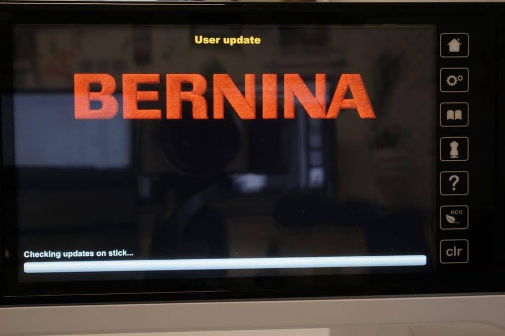 Bernina User update