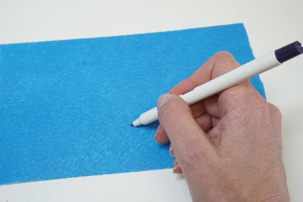 Selbstlöschender Stift