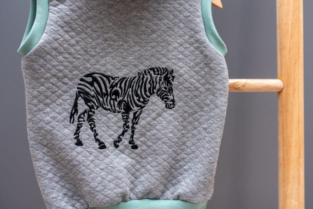 Africa Tattoo Zebra Weste