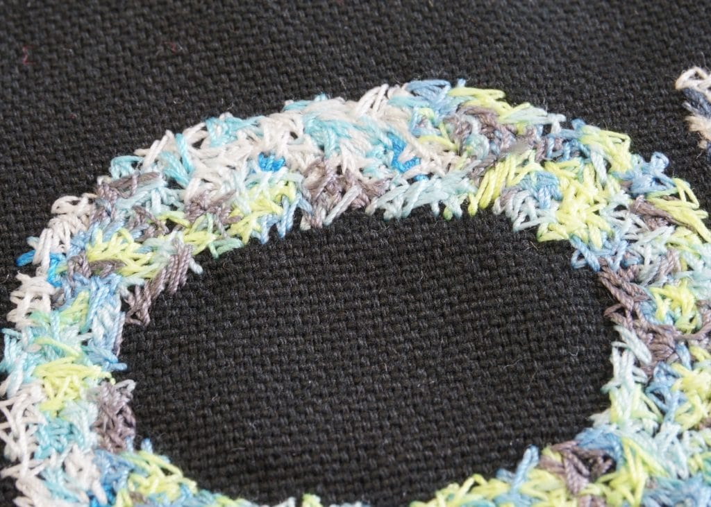 Deco Stitch Hingekritzelt